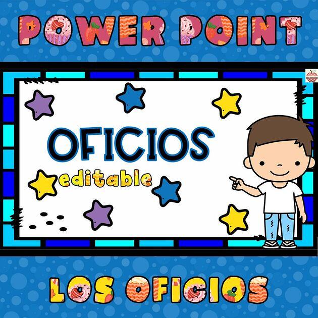 juego de los oficios en powerpoint