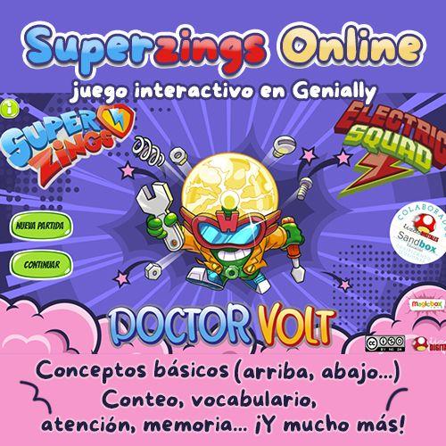 juego de los superzings online